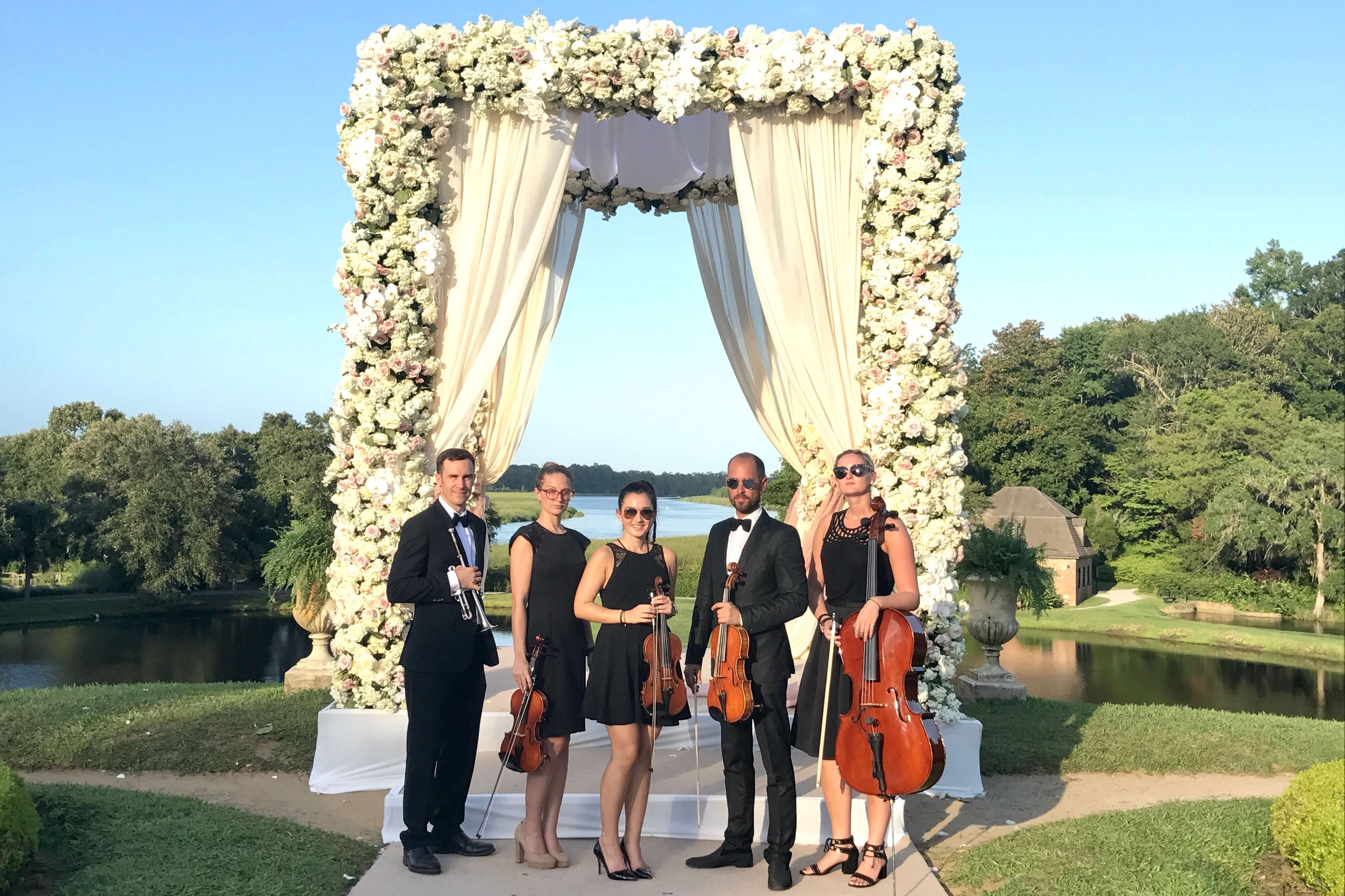 Tara Lipinski Ceremony Musicians New York Virtuosi Nyc Wedding