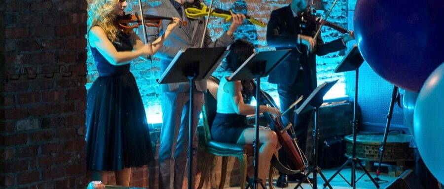 nyc electric string quartet