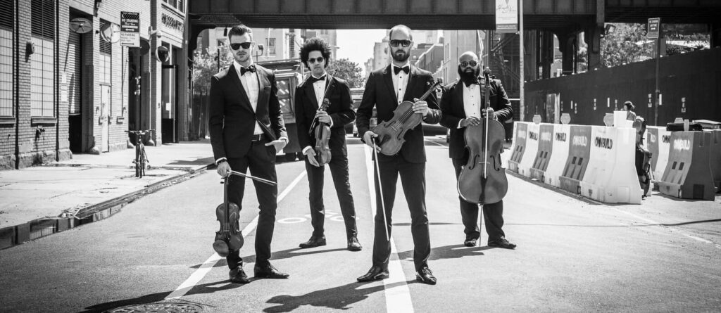 New York Virtuosi Male String Quartet - fashion event musicians