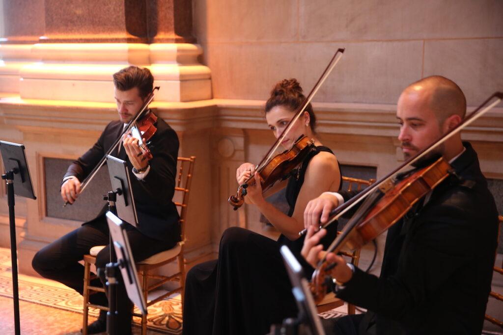 Wedding Ceremony at Weylin with NY Virtuosi String Quartet