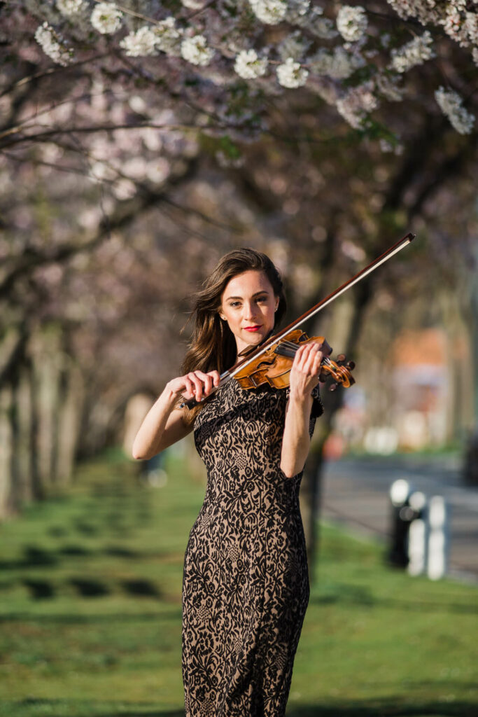 Violinist Adrianne Munden Dixon in New York City